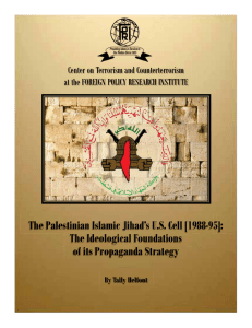 The Palestinian Islamic Jihad`s U.S. Cell