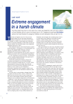 Extreme Engagement in a Harsh Climate