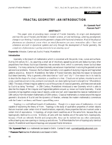 fractal geometry : an introduction