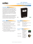SAE-1100 Series Carbon Monoxide (CO) Detectors