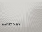 Computer Basic Overview