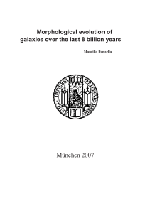 Morphological evolution of galaxies over the last 8 billion years