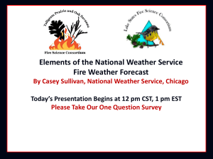 Fire Weather March 14th 2006 - Lake States Fire Science Consortium