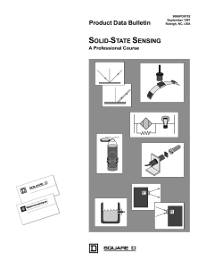 Solid-State Sensing, a Professional Course
