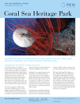 Coral Sea Heritage Park - The Pew Charitable Trusts