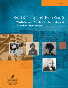 Exploring the Evidence, The Holocaust, Cambodian Genocide, and