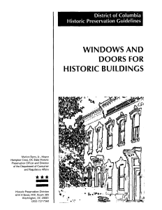 windows and doors for historic buildings