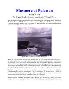 WWII Massacre at Palawan