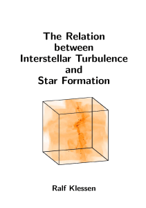 The Relation between Interstellar Turbulence and Star Formation