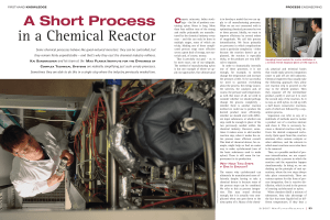 in a Chemical Reactor - Max-Planck