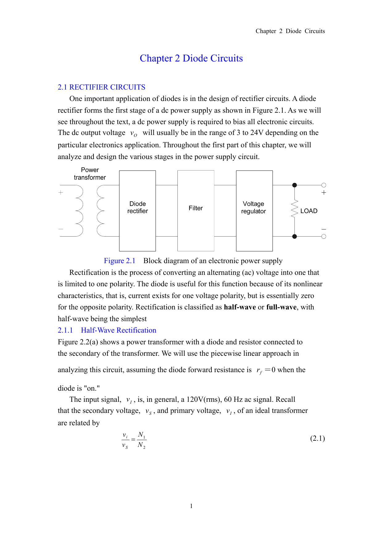 Chapter 2 Diode Circuits And Its Characteristics Electronic Diagram 017909424 1 4c04e1a0df0e3e41fcf5a3bb5c8f6432