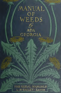 A manual of weeds - Weed Science Society of America