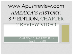 Americas-History-Chapter-2 ppt