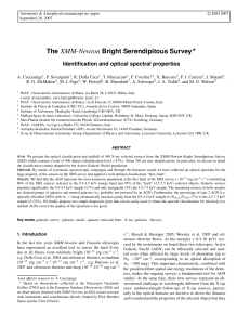 The XMM-Newton Bright Serendipitous Survey