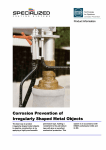 Corrosion Prevention of Irregularly Shaped Metal Objects