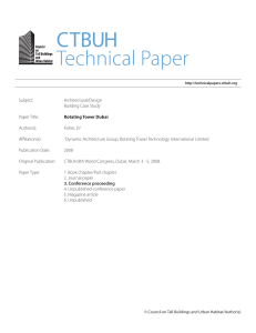 Paper - Council on Tall Buildings and Urban Habitat