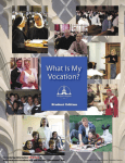 What is My Vocation - Curriculum for Junior High Students