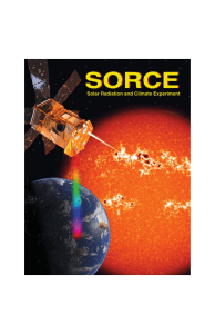 SORCE brochure.qx - Laboratory for Atmospheric and Space Physics
