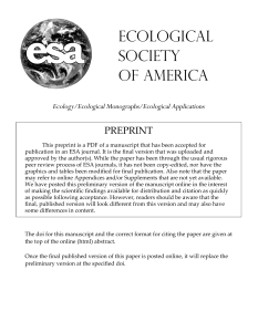 Untitled - Department of Ecology and Evolutionary Biology