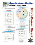 Power Supply Equations