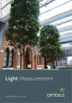 Light Measurement Guide