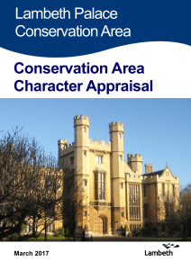 Lambeth Palace Conservation Area Statement
