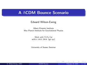 Edward Wilson-Ewing, 23rd February 2015 [PDF 1.69MB]