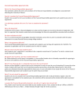 Financial Responsibility Agreement FAQs