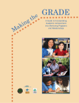 Making The Grade A Guide to Incorporating Academic Achievement into Mentoring Programs and Relationships