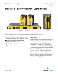 DeltaV SIS™ Safety Network Components