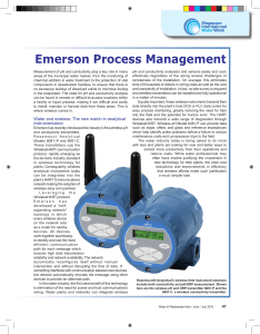Article: Water and wireless: The new match in Analytical Instrumentation