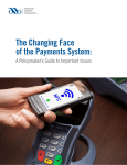 The Changing Face of the Payments System