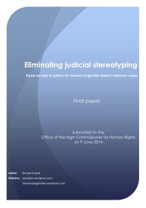 2. Access to justice for women in gender-based violence