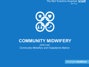 Introduction to community midwifery 4MB