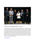 Large Employer of the year: Locke Protective Services