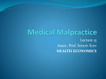 Basic Concepts of Health Economics