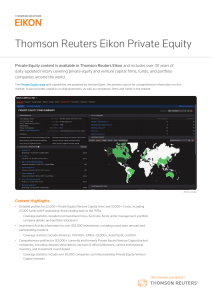 Eikon Private Equity PDF