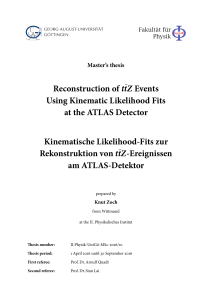 Reconstruction of ttZ Events Using Kinematic Likelihood Fits at the