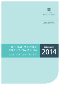 The Fixed Charge Processing System