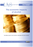 The economic impacts of alcohol