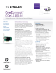 OneConnect® OCe11101-N