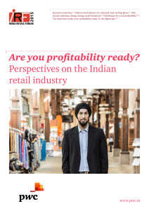 Are you profitability ready? Perspectives on the Indian