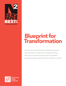 Blueprint for Transformation