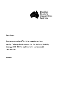 DPO Australia NDS Outcomes Submission