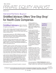 OrbiMed Advisors Offers `One-Stop Shop` for Health