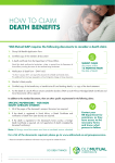 how to claim death benefits