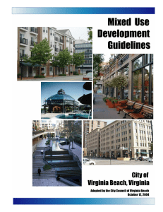Mixed Use Development Guidelines