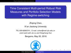 Time Consistent Multi-period Robust Risk Measures and