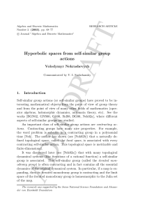 Hyperbolic spaces from self-similar group actions