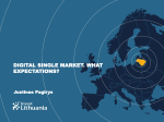 Digital Single Market: High Expectations for the EU`s Economy?